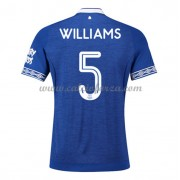 Maglia Everton poco prezzo Ashley Williams 5 Prima Divisa 2018-19..