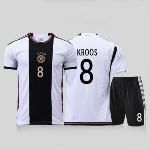 0acc807e38 Maglia Germania Bambino Coppa del Mondo 2018 Toni Kroos 8 Prima Divisa