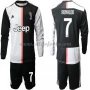 RIKPR 19 20 Maglia Juventus casa Calcio Maglia #7 Cristiano Ronaldo Jersey Bambole Gratis