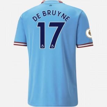 Maglia Manchester City poco prezzo De Bruyne 17 Prima Divisa 2018-19