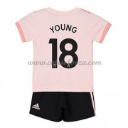 Maglia Manchester United Bambino Ashley Young 18 Seconda Divisa 2018-19..