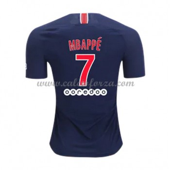 Maglia Paris Saint Germain PSG poco prezzo Kylian Mbappé 7 Prima Divisa 2018-19