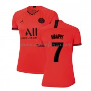 Maglia Paris Saint Germain PSG Donna Kylian Mbappe 7 Seconda Divisa 2019-20..