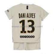 4712fb2cd Maglia Paris Saint Germain PSG Bambino Dani Alves 32 Seconda Divisa 2018-19.