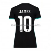 Maglia Real Madrid Donna James Rodriguez 10 Seconda Divisa 2017-18..