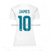 Maglia Real Madrid Donna James Rodriguez 10 Prima Divisa 2017-18..