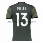 Maglie Calcio Germania Euro 2016 Muller 13 Seconda Divisa..