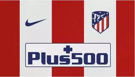 big sale e260c b2a51 Inoltre, la posizione della maglia Atletico Madrid 2017 poco prezzo sponsor  Nike e sponsor petto Plus500 in fondo non è cambiata.